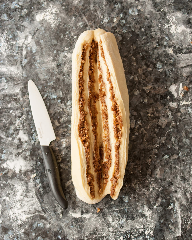 Recipe: Sticky Caramel-Pecan Babka Loaves: gallery image 4