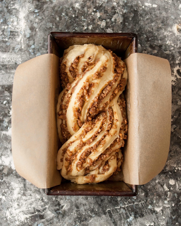 Recipe: Sticky Caramel-Pecan Babka Loaves: gallery image 8