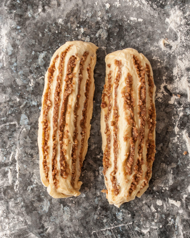 Recipe: Sticky Caramel-Pecan Babka Loaves: gallery image 5