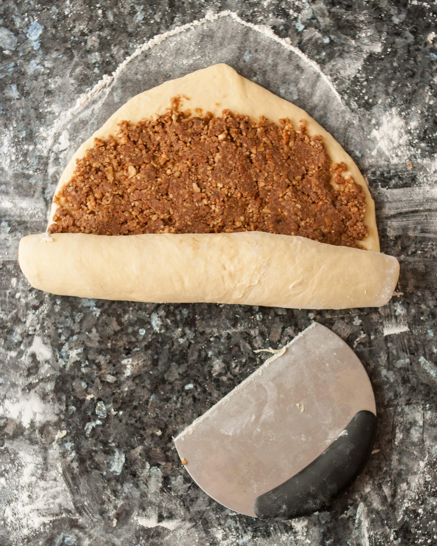 Recipe: Sticky Caramel-Pecan Babka Loaves: gallery image 2