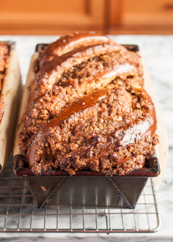 Recipe: Sticky Caramel-Pecan Babka Loaves: gallery image 10