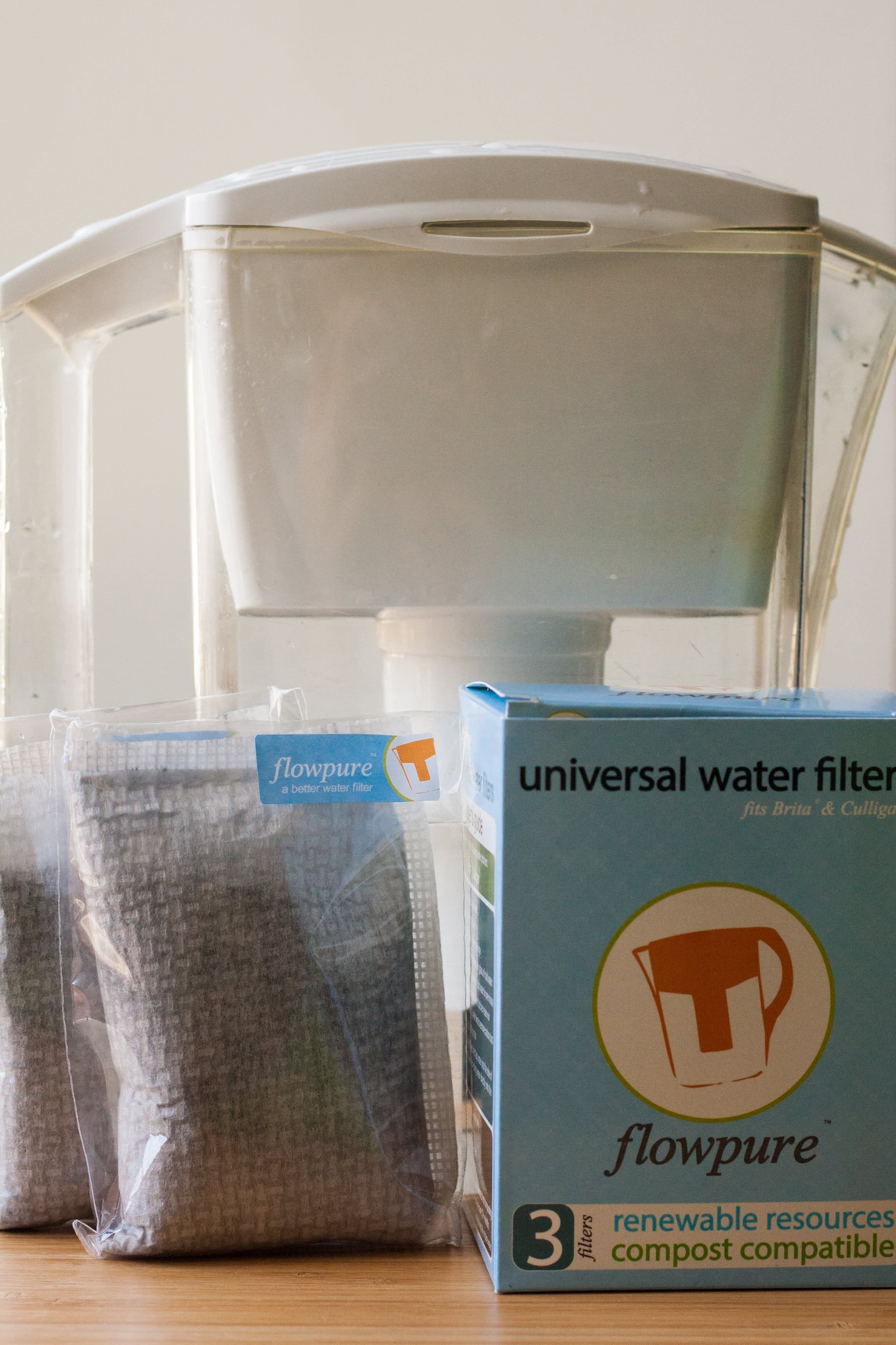 Flowpure Is a Green, Compostable Filter for Any Water Pitcher: gallery image 1