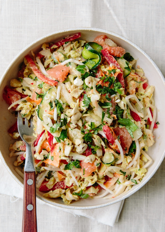 Anna Jones' Raw Thai Crunch Salad