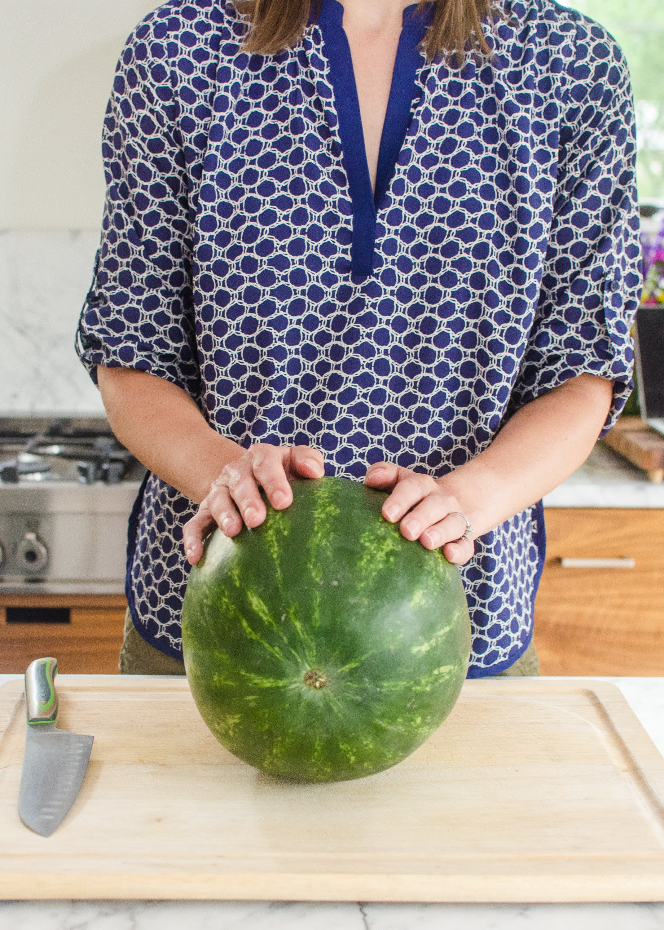 The Cleverest Way To Cut A Watermelon Into Bite Sized Pieces Kitchn