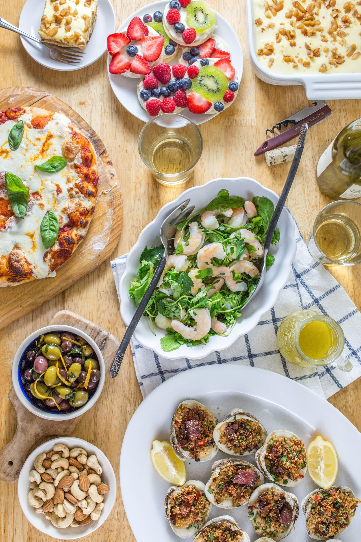Stress Free Pizza Night Menu
