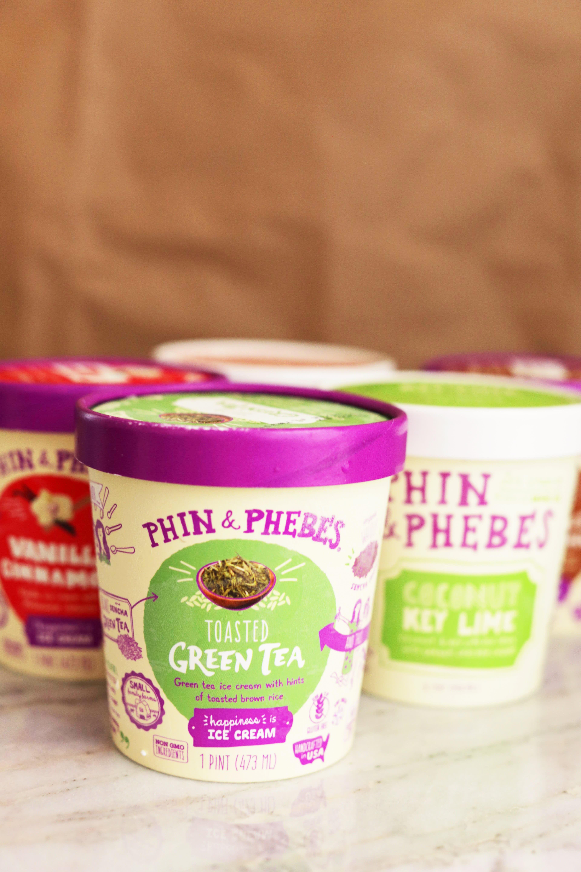 Phin and Phebes ice cream pints