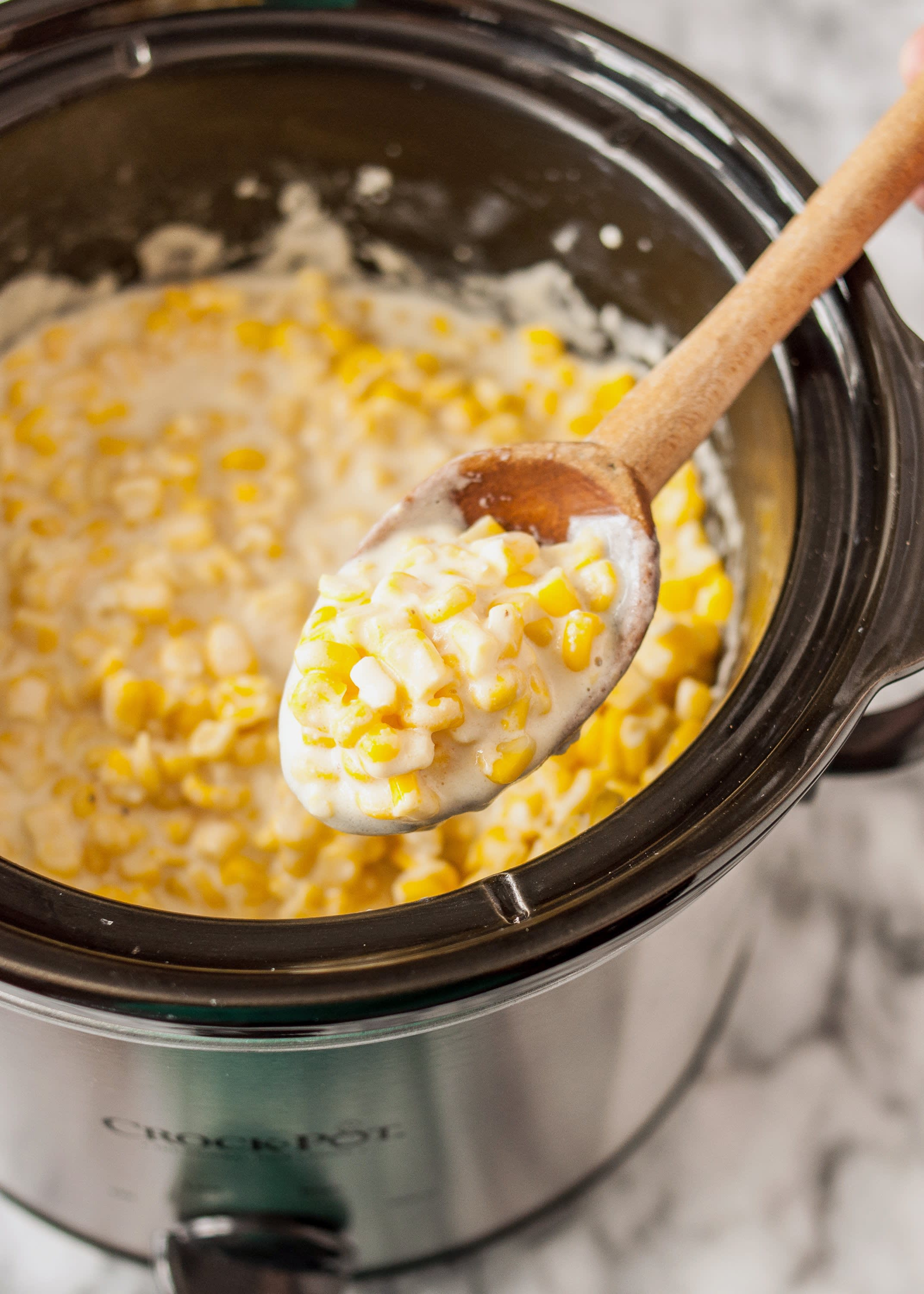 How To Make Creamed Corn in the Slow Cooker: gallery image 8