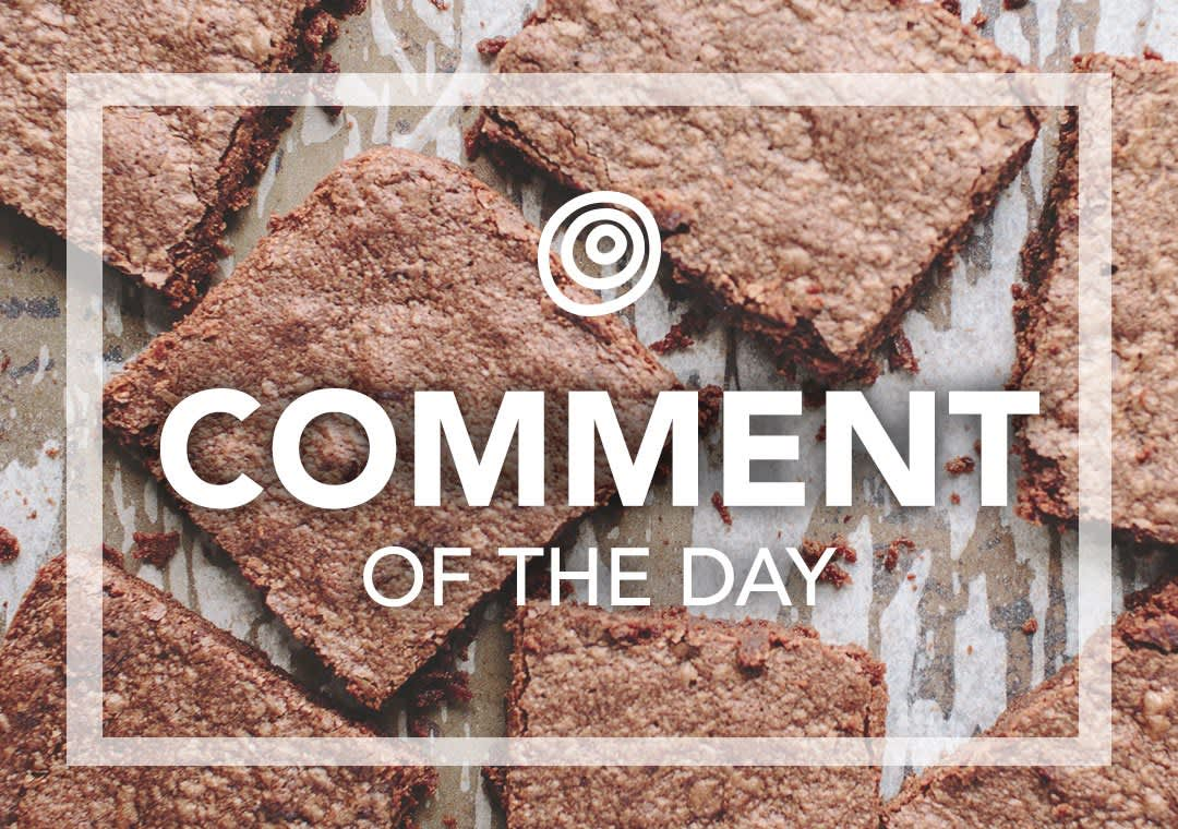 Brownies - Comment of the Day