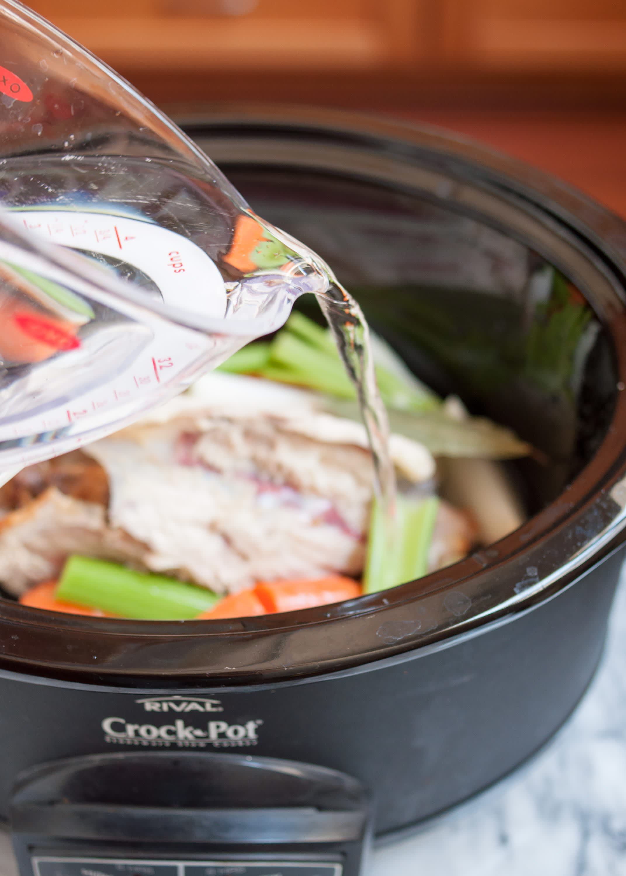 How To Make Chicken Stock in the Slow Cooker: gallery image 4