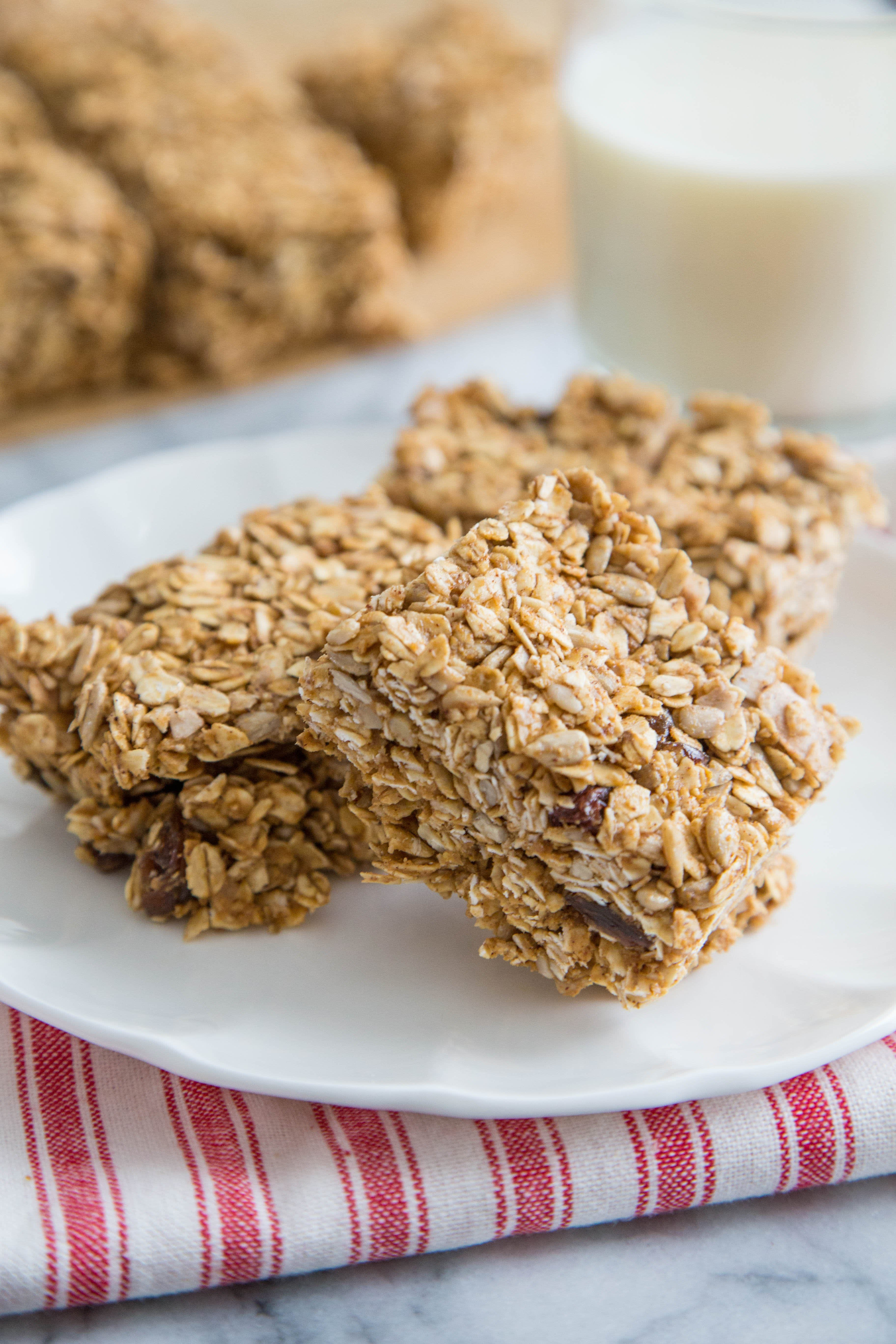 No-Bake Sunflower Oat Bars