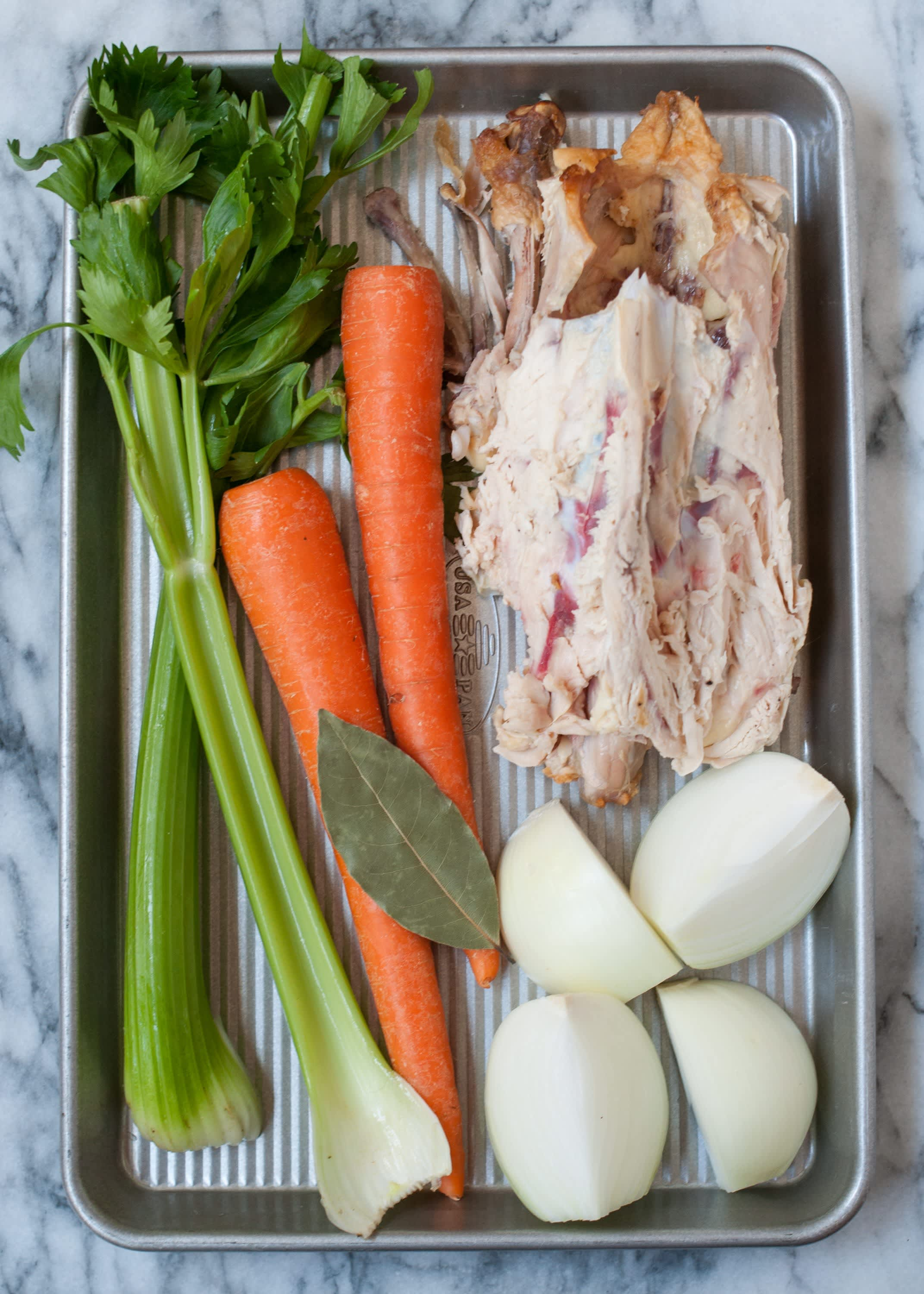 How To Make Chicken Stock in the Slow Cooker: gallery image 1