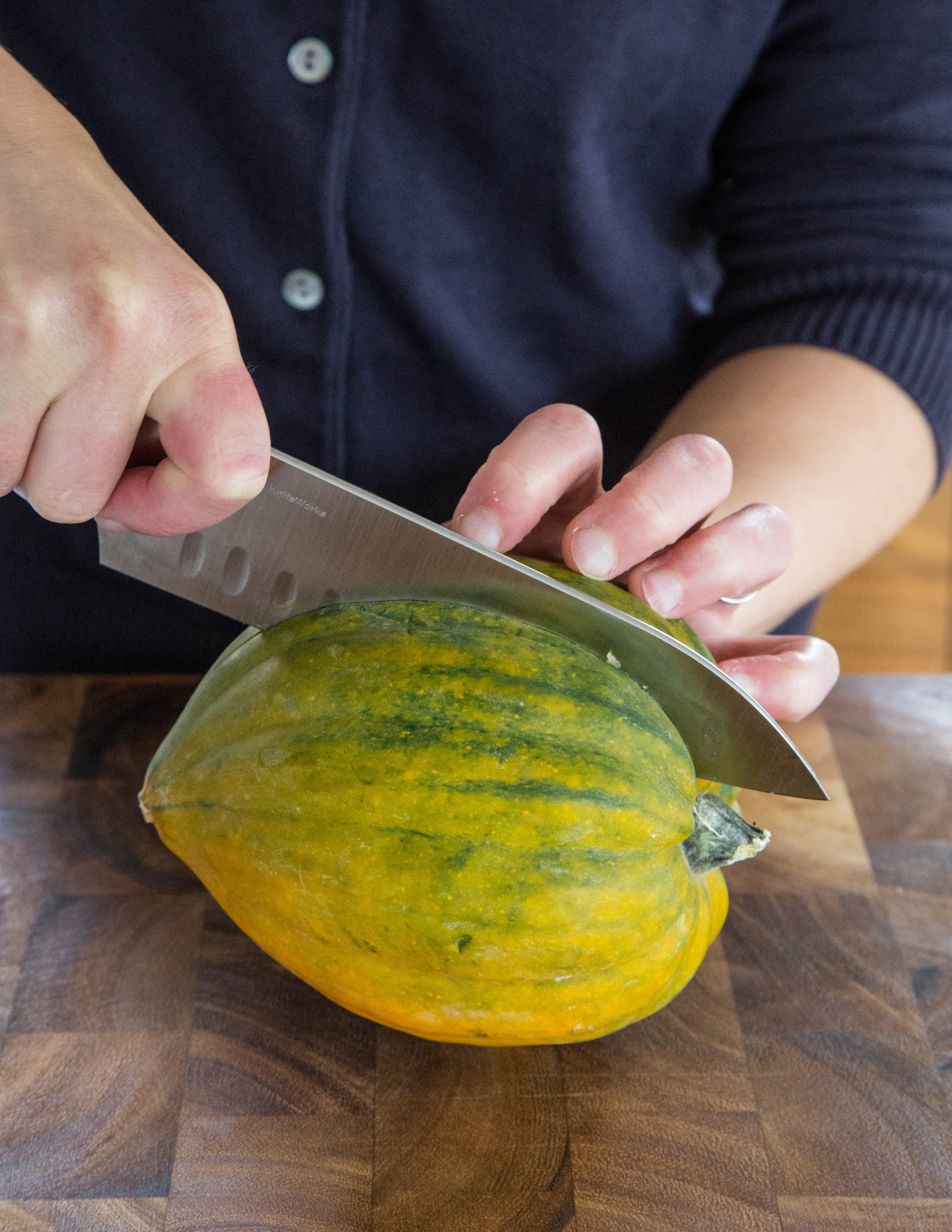 How To Cook Acorn Squash: The Easiest, Simplest Method: gallery image 2