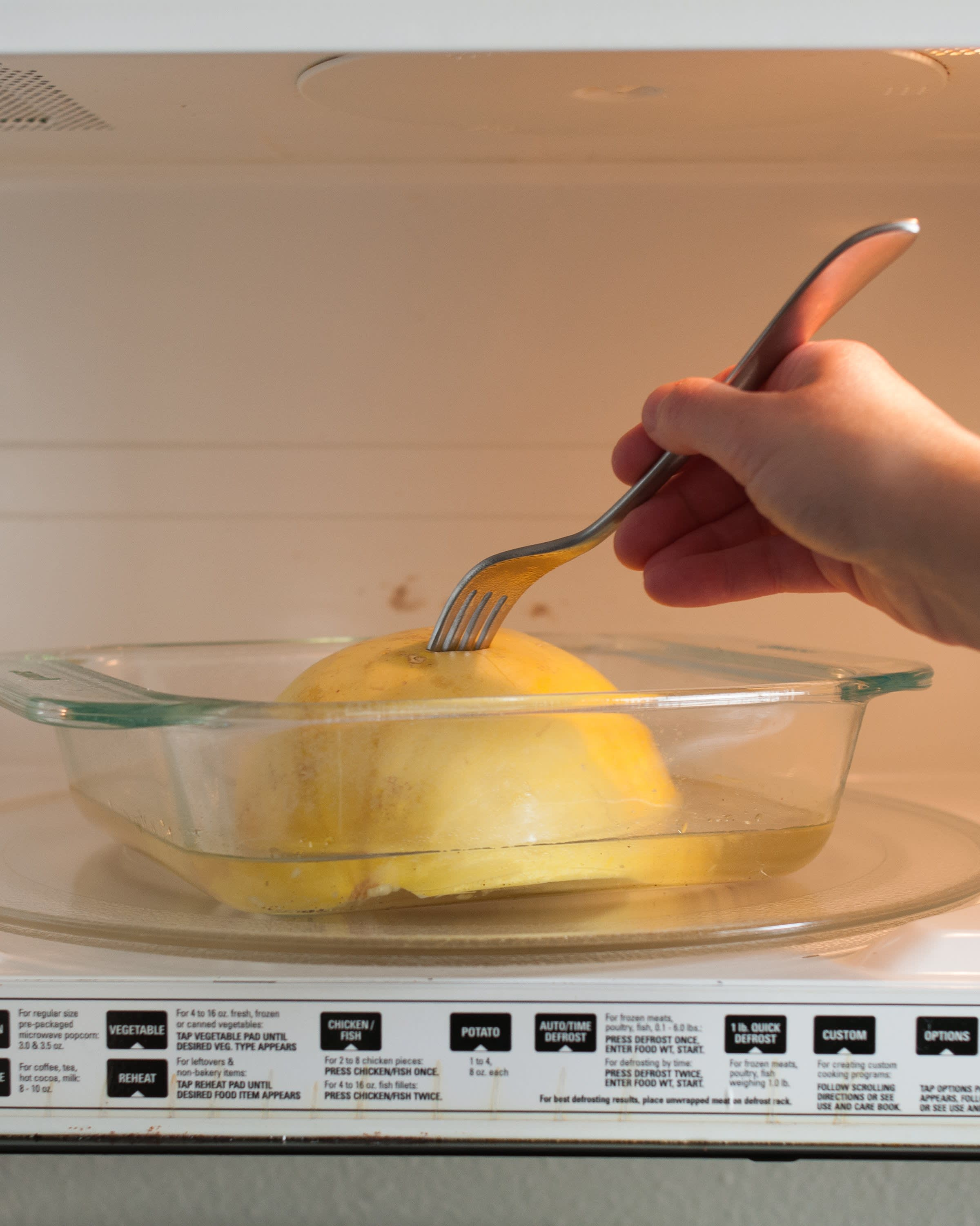 How To Cook Spaghetti Squash in the Microwave: gallery image 14