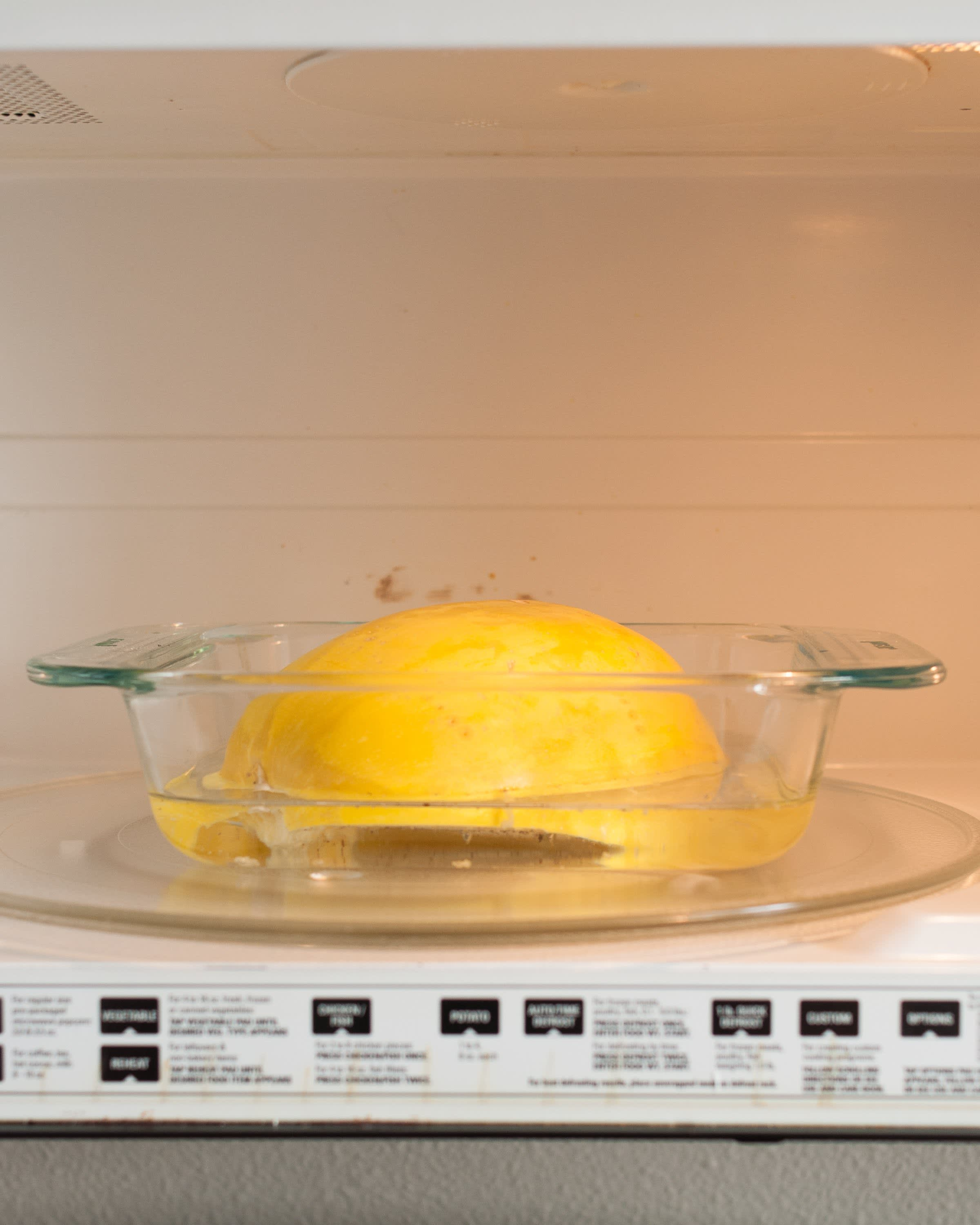 How To Cook Spaghetti Squash in the Microwave: gallery image 13