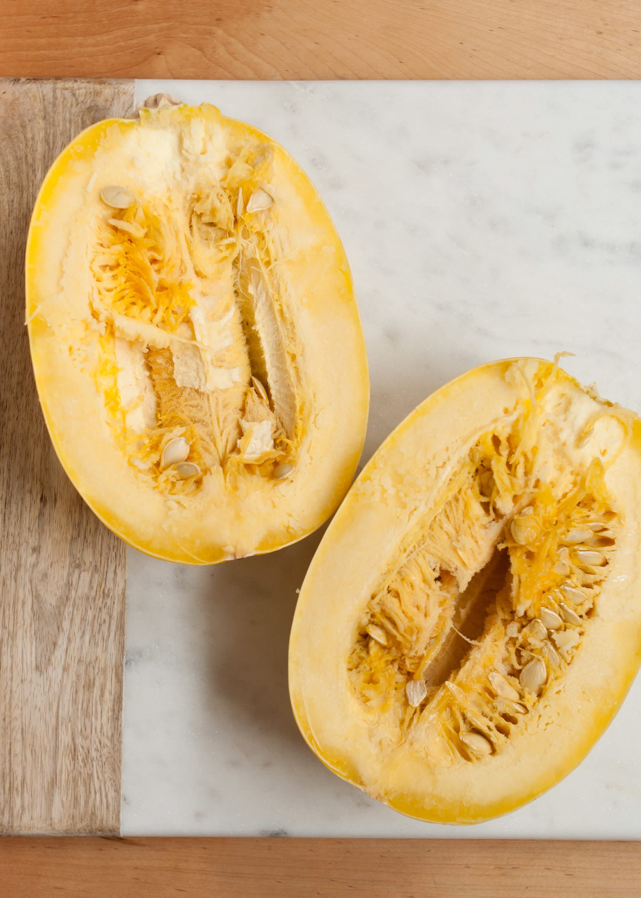 How To Cook Spaghetti Squash in the Microwave: gallery image 6