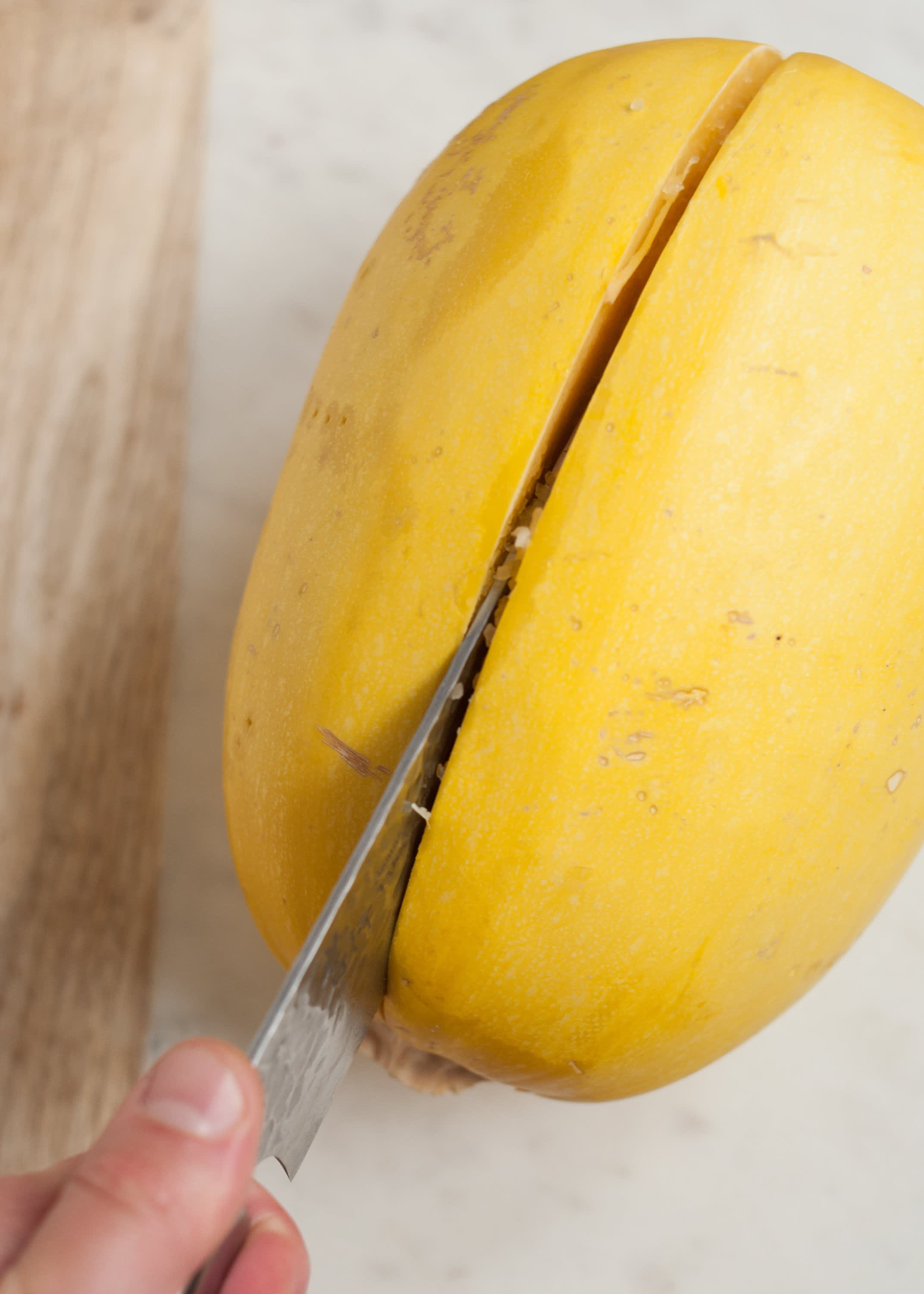How To Cook Spaghetti Squash in the Microwave: gallery image 5