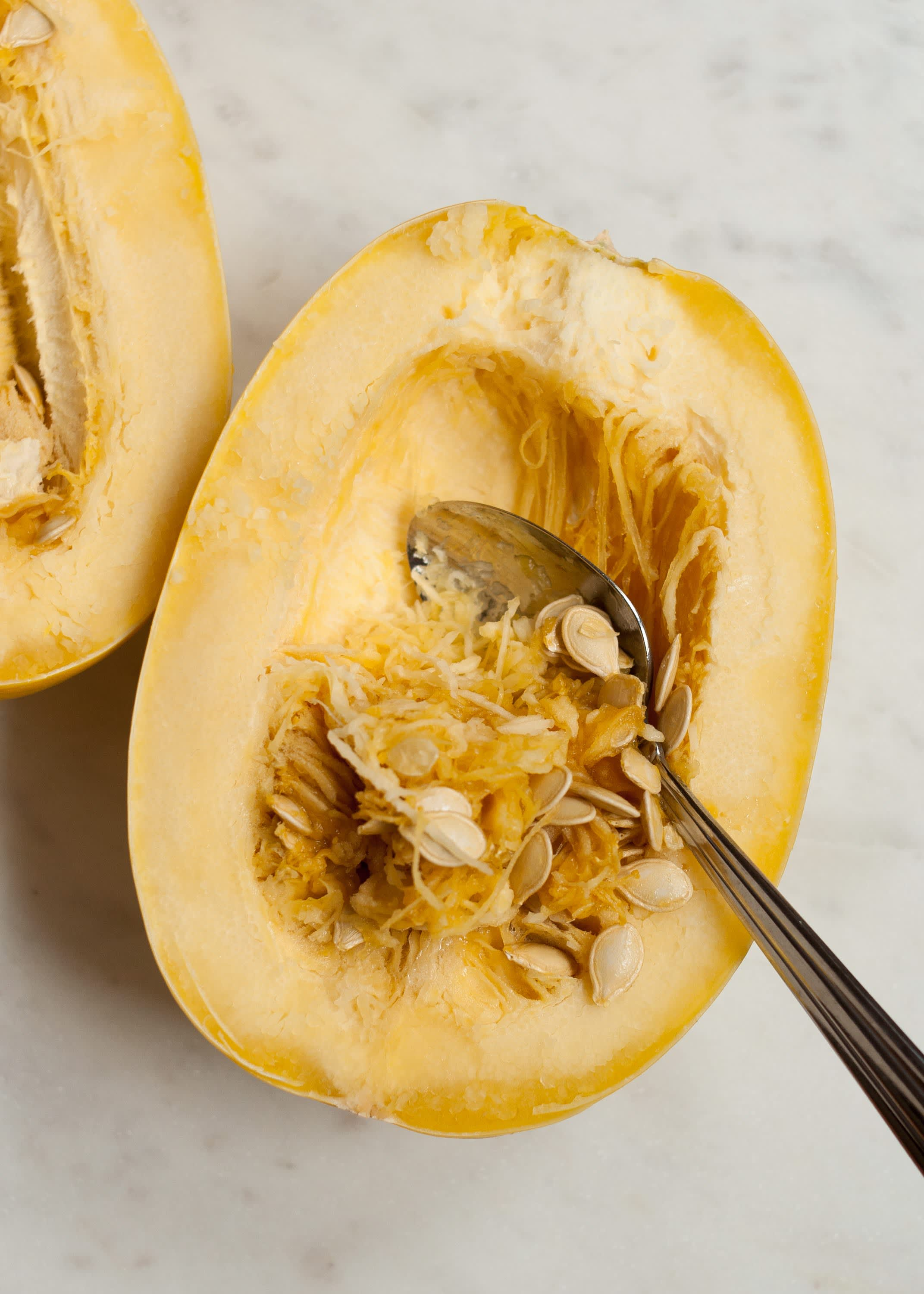How To Cook Spaghetti Squash in the Microwave: gallery image 7