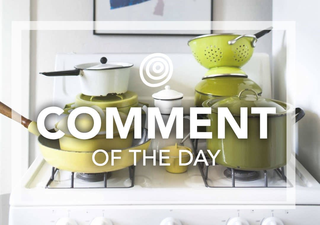 Enameled Pots - Comment of the Day