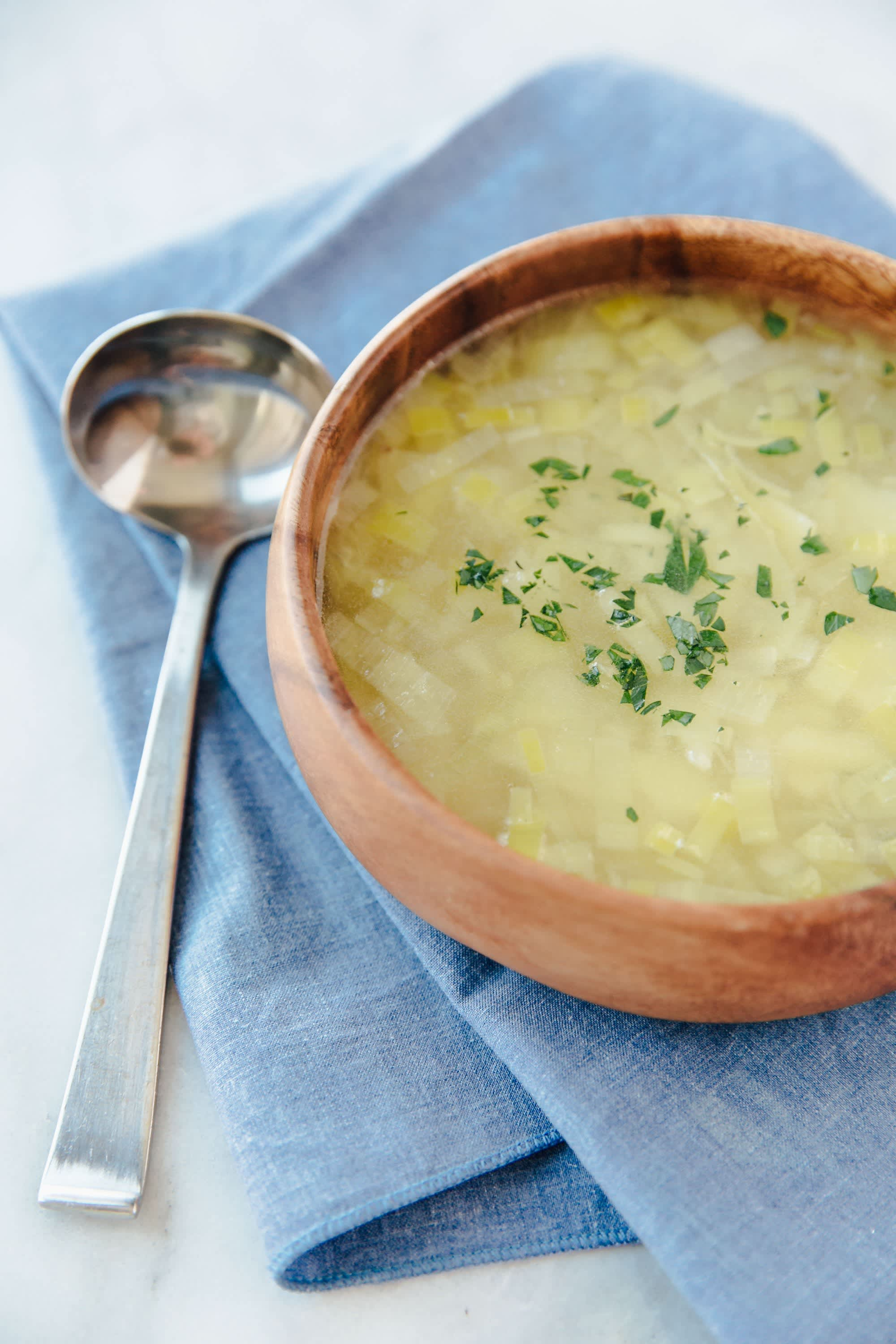 Parisian Potage (Rustic Leek and Potato Soup)
