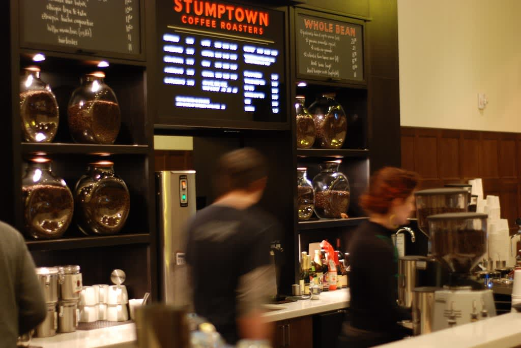 Stumptown Coffee in the Ace Hotel