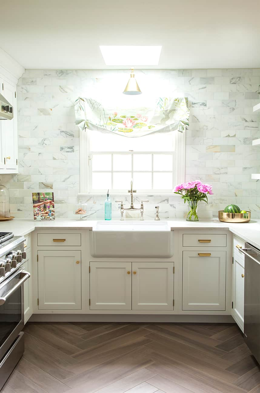 Skylight over the sink