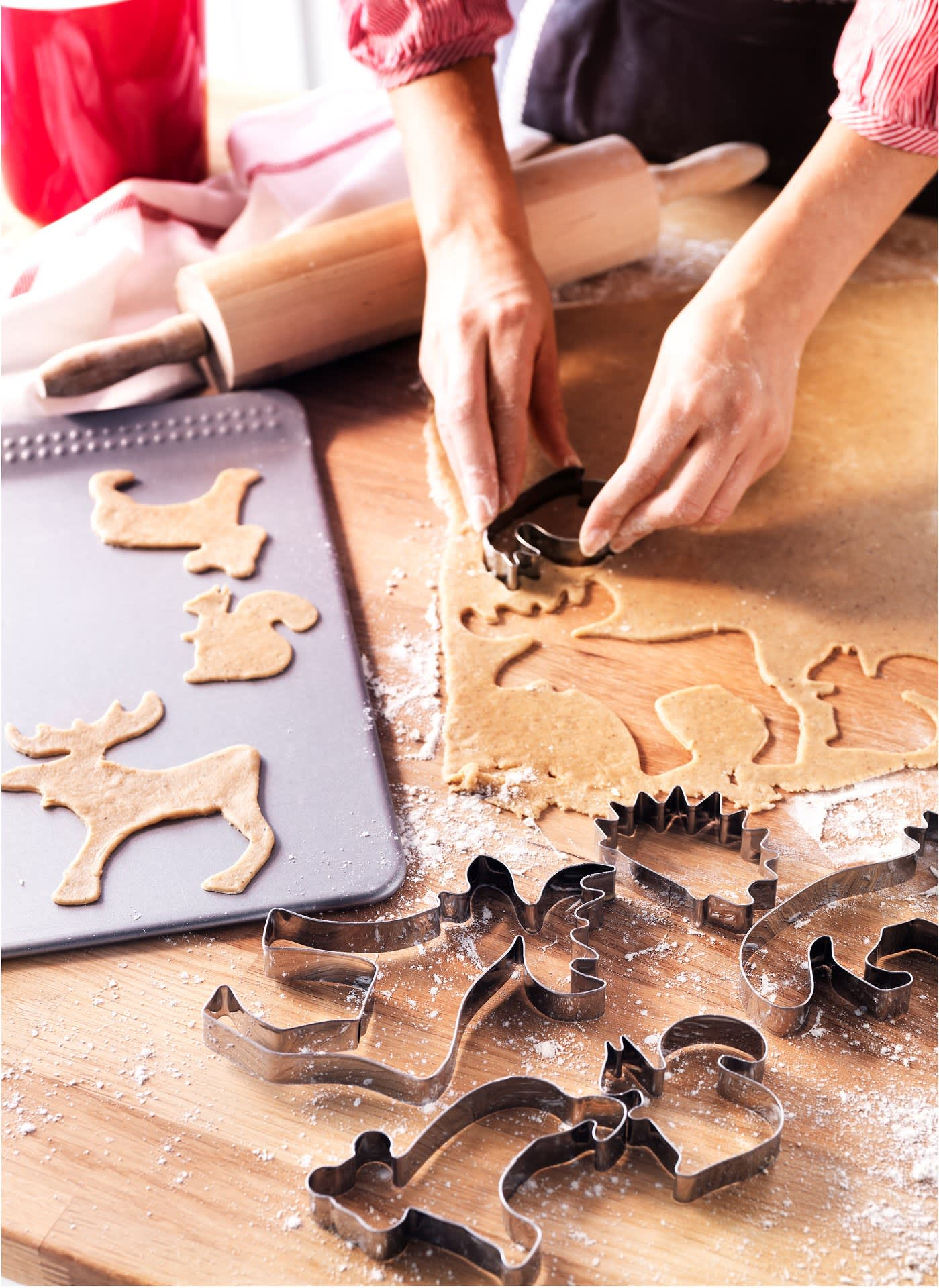 Woodland creature cookie cutters