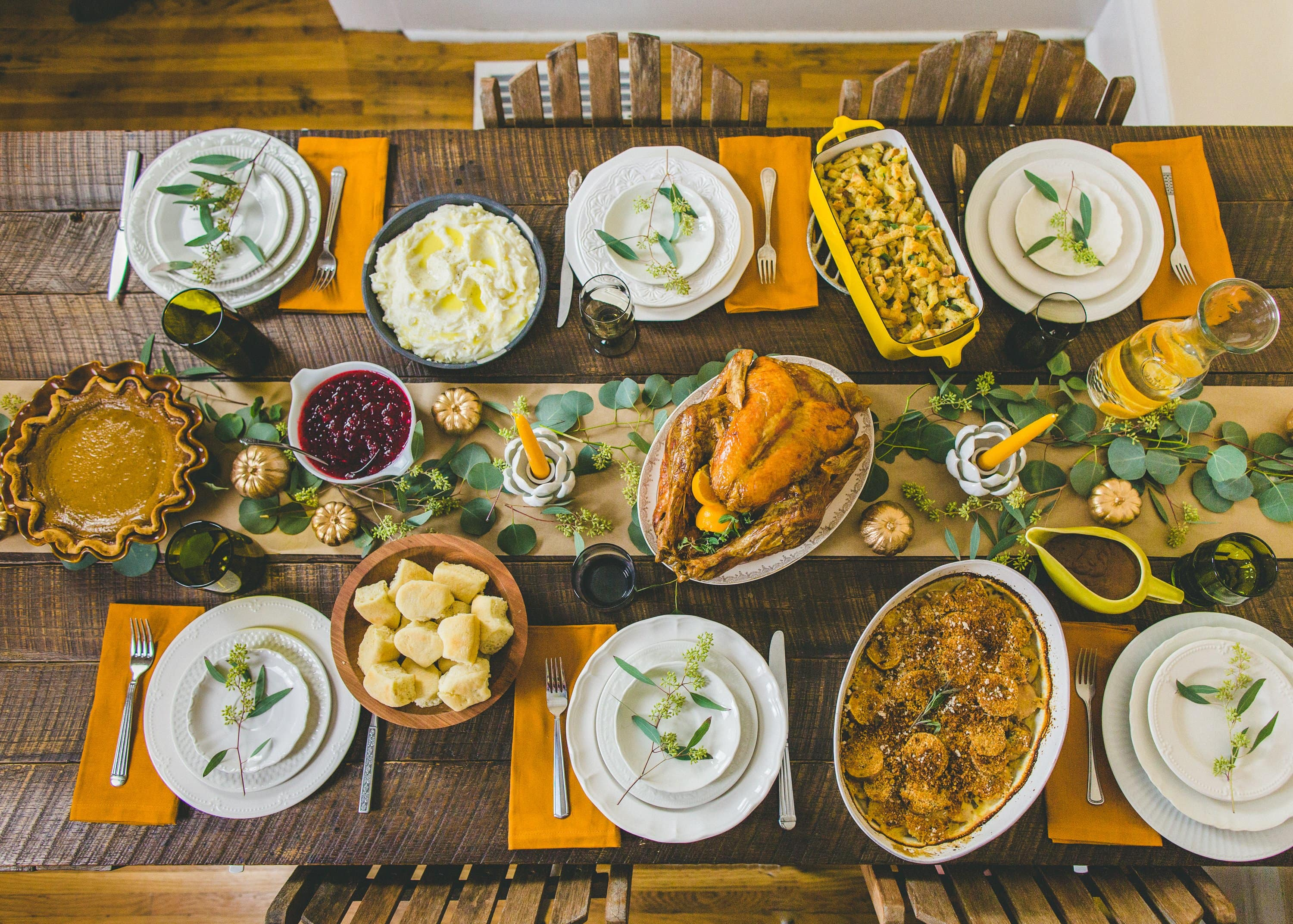 Set a Beautiful Thanksgiving Table on a Budget | Kitchn