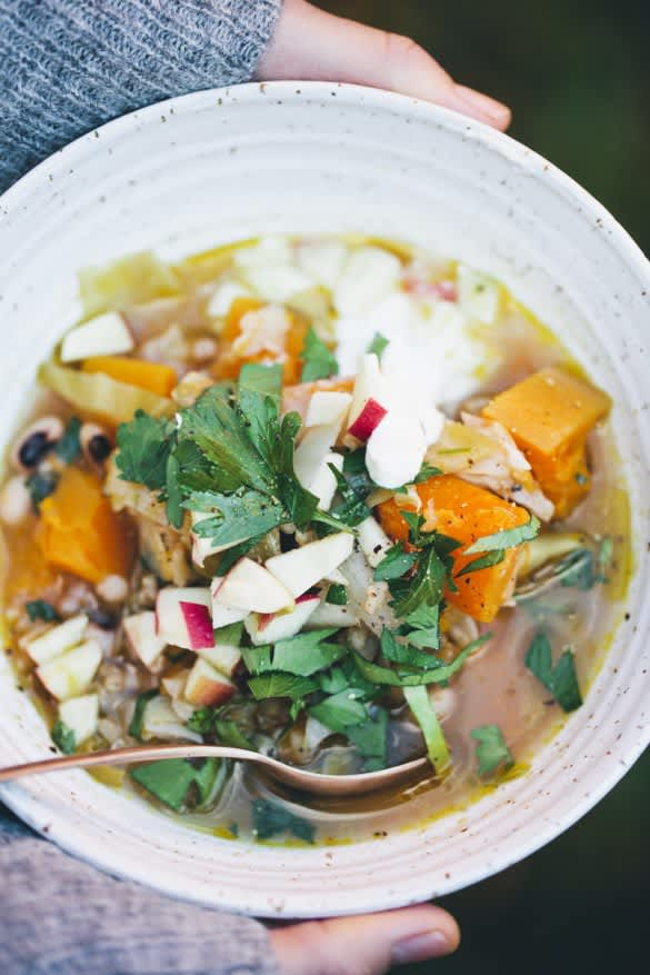 One-Pot Squash and Cabbage Stew
