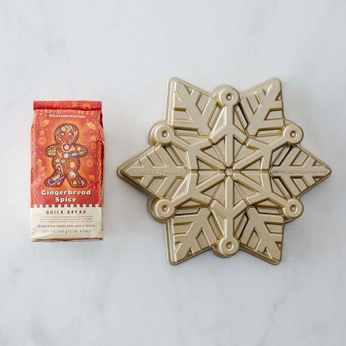 Nordic Ware Pull-Apart Snowflake Cake Pan