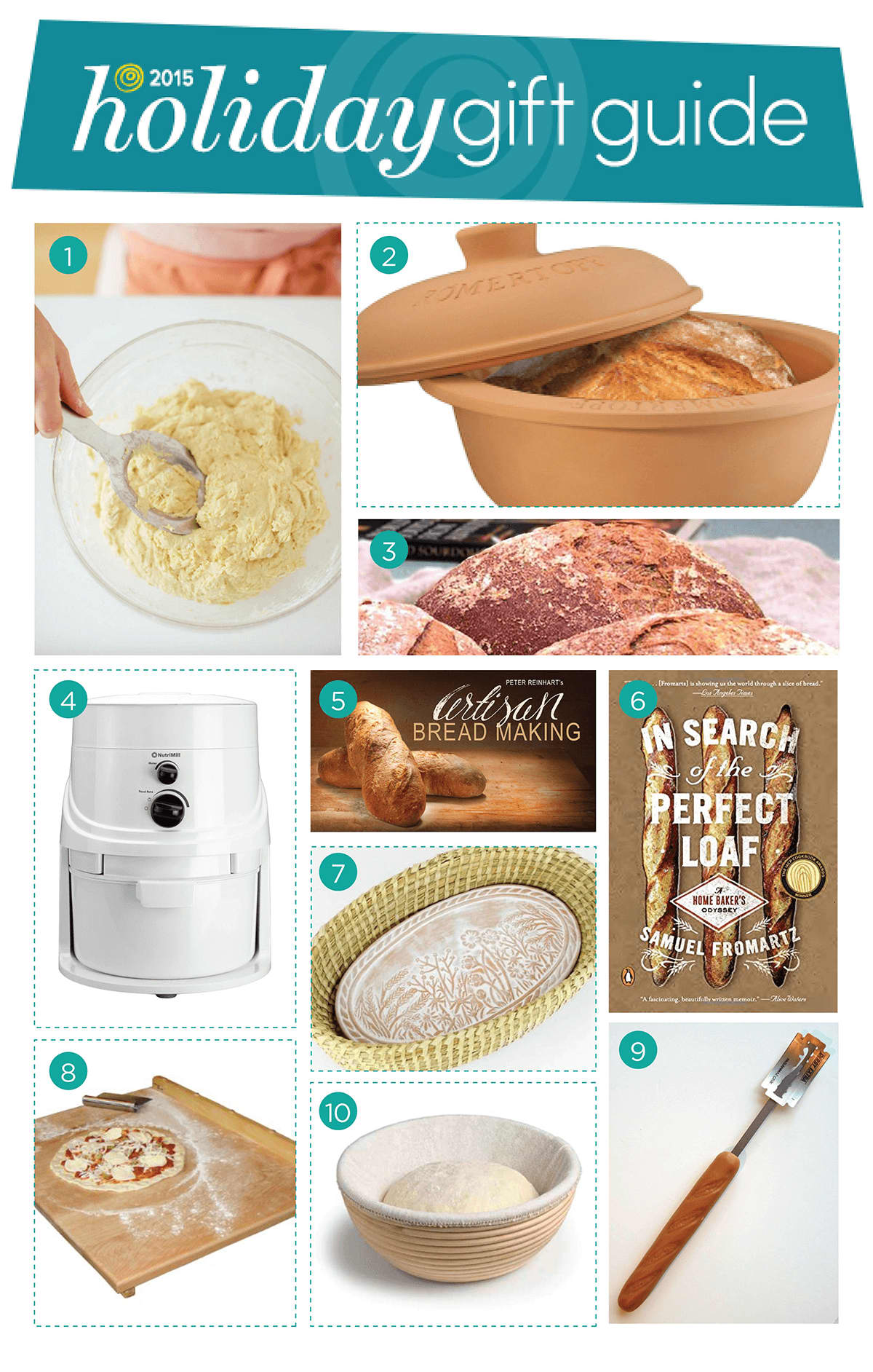 The Kitchn's 2015 Holiday Gift Guide for Bread Bakers