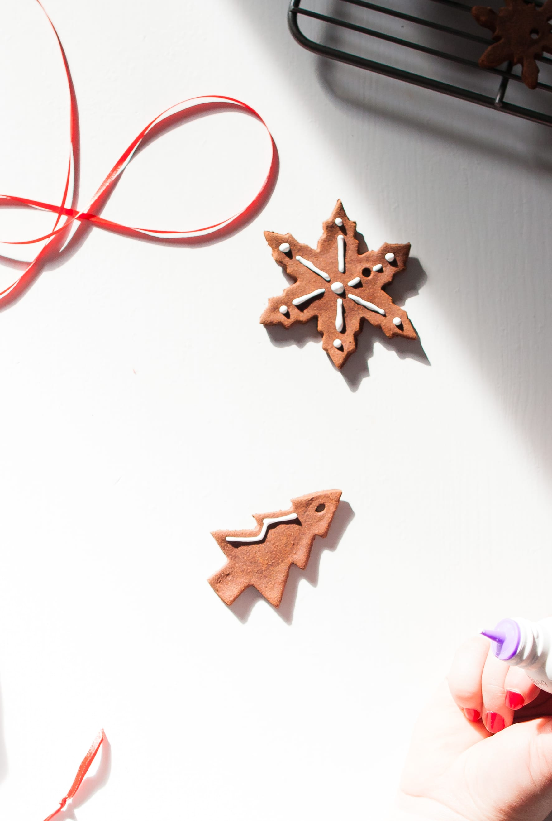 How To Make Cinnamon Dough Ornaments: gallery image 14