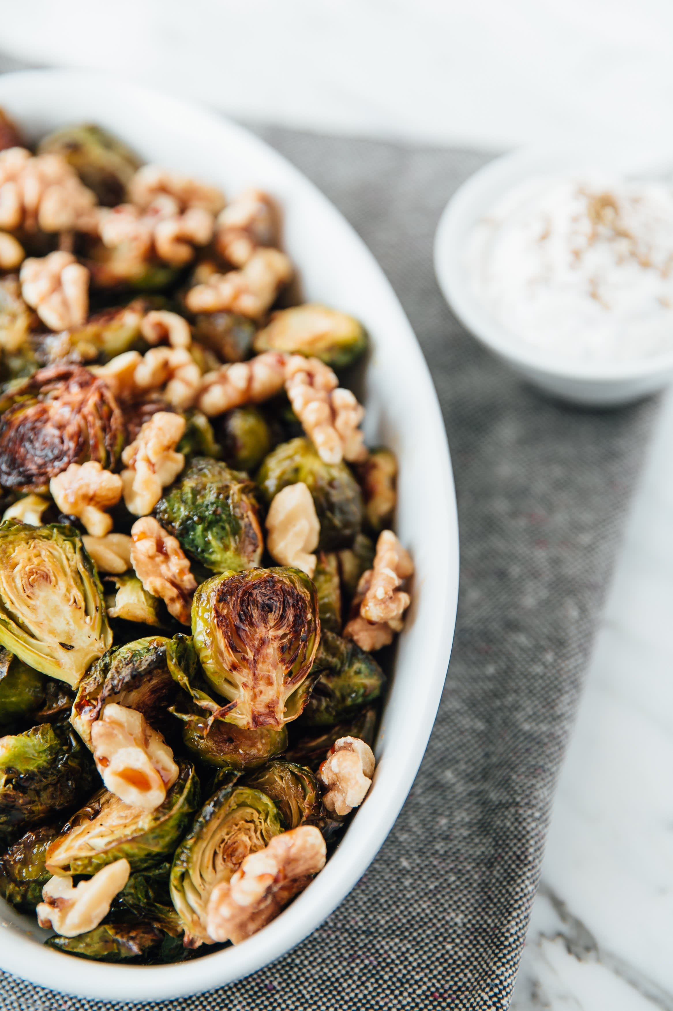 Brussels Sprouts with Shanklish