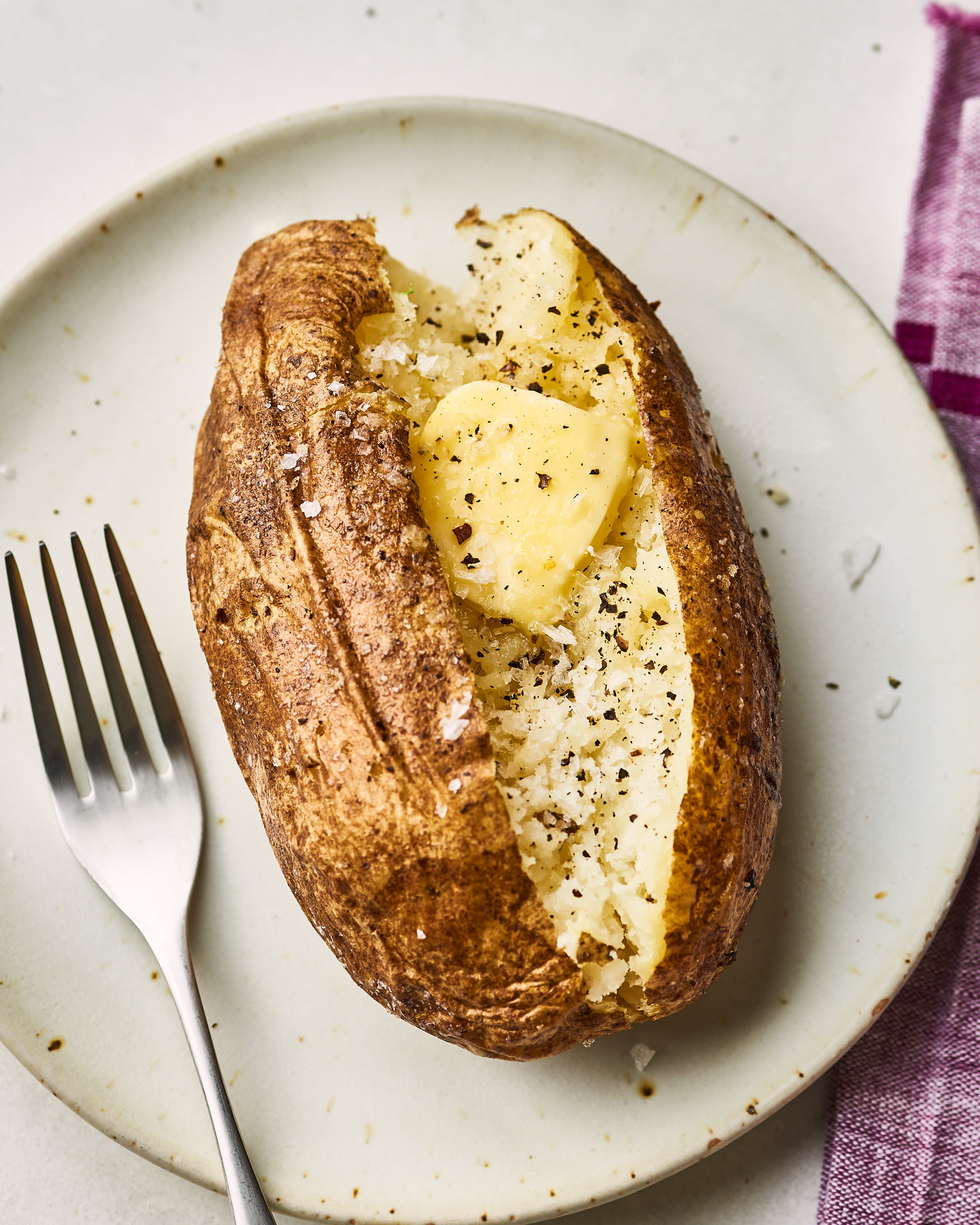 Microwave Baked Potato Recipe
