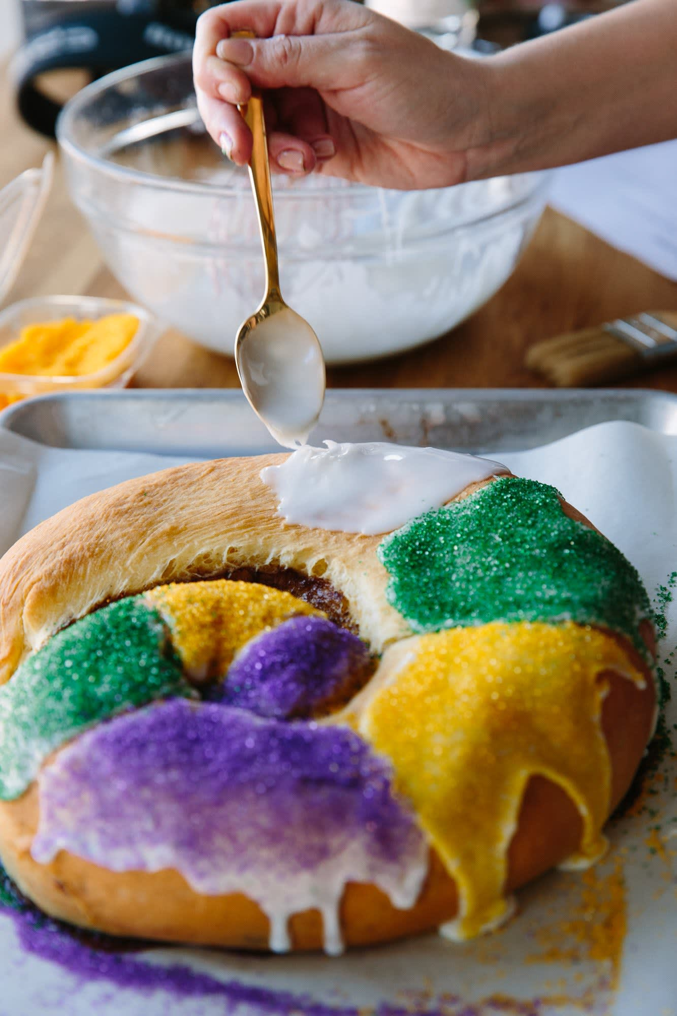 How To Make a King Cake for Mardi Gras: gallery image 16