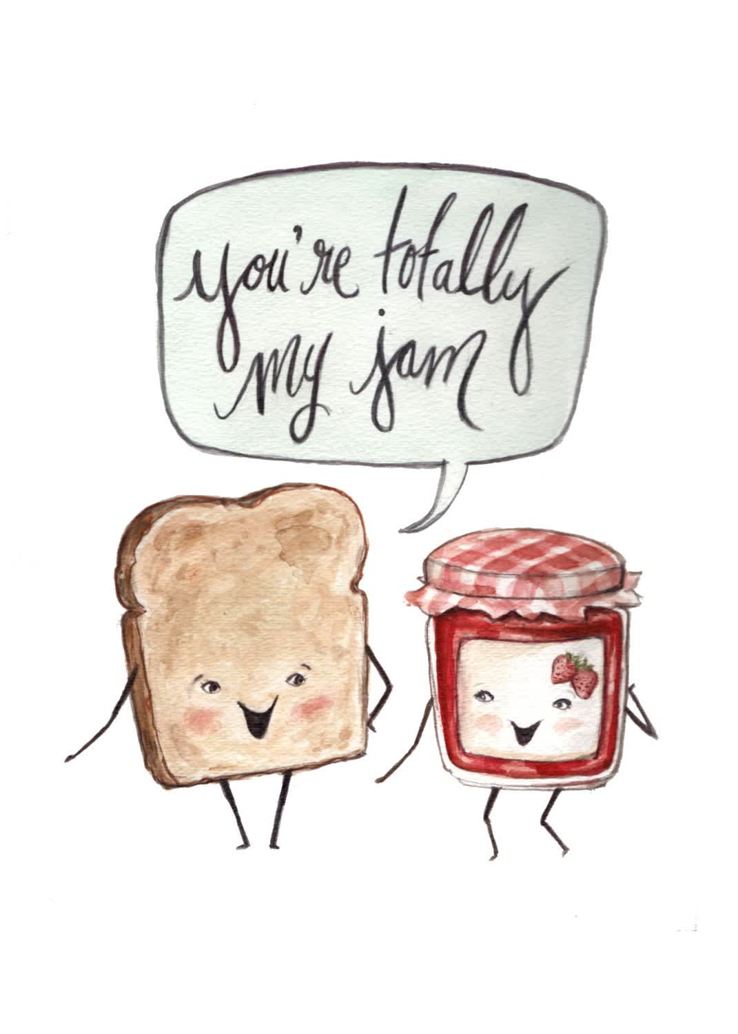 10 Valentine's Day Cards for Food Enthusiasts (and Pun Lovers): gallery image 5