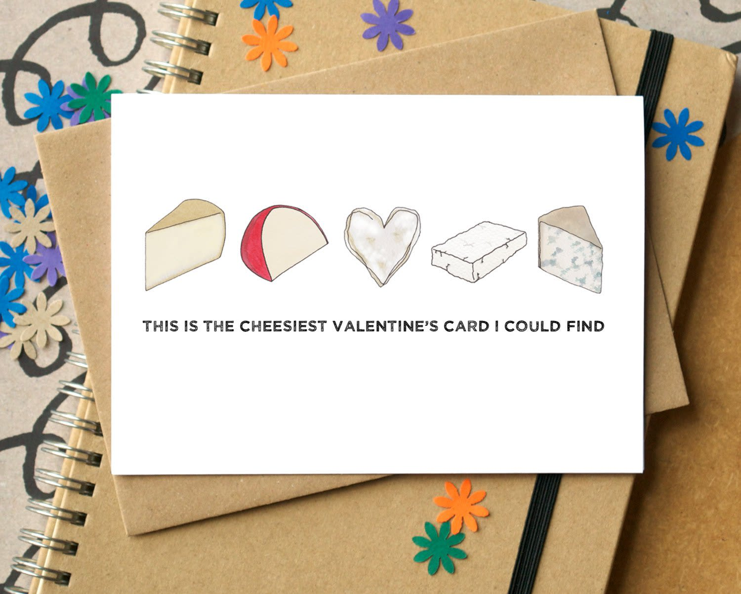 10 Valentine's Day Cards for Food Enthusiasts (and Pun Lovers): gallery image 2