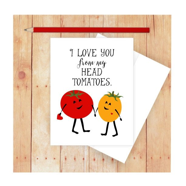 10 Valentine's Day Cards for Food Enthusiasts (and Pun Lovers): gallery image 10