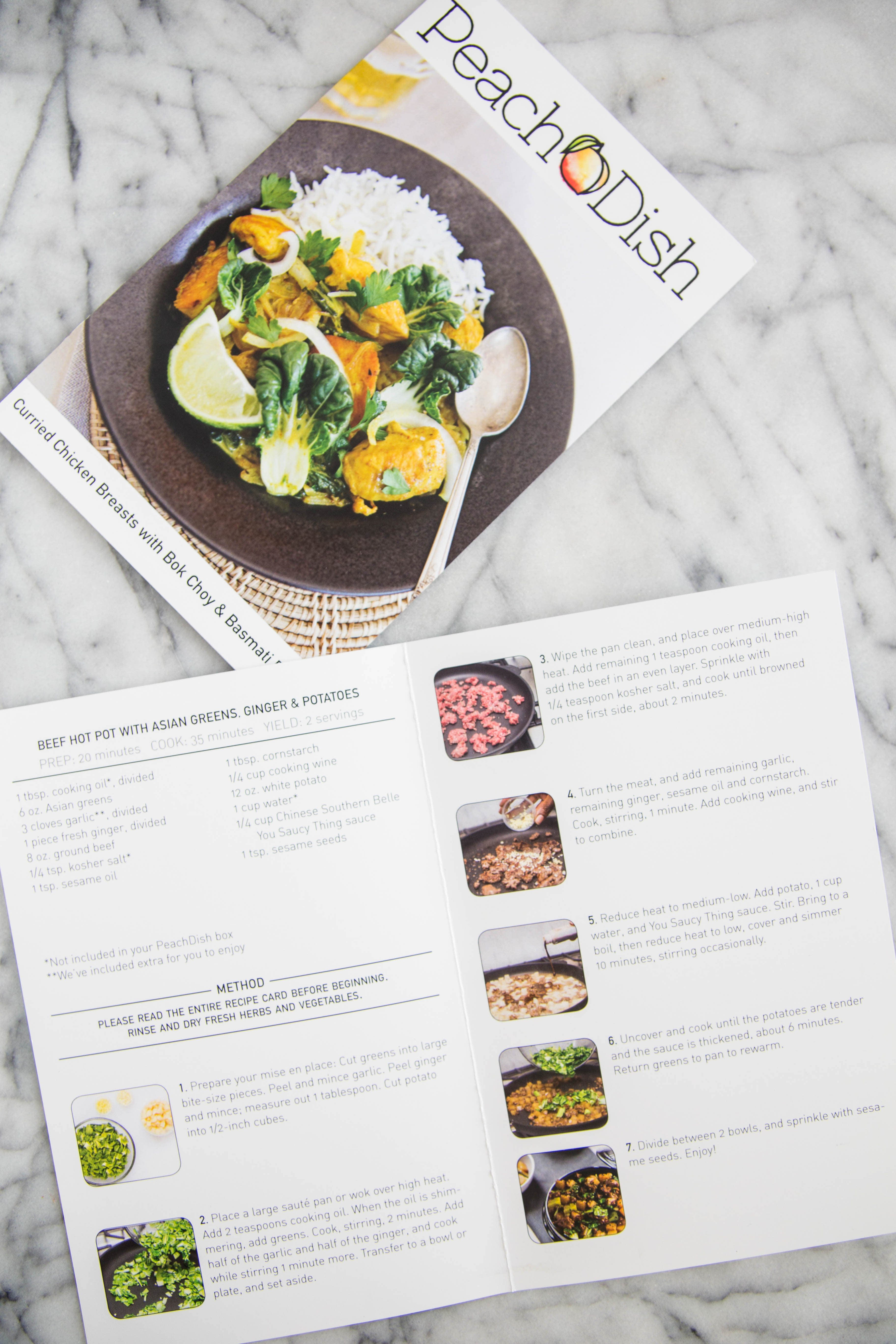 I Tried the Meal Kits from PeachDish and Here's What I Thought: gallery image 4