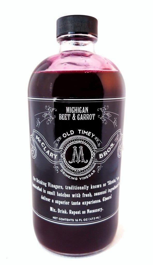 McClary Bros Drinking Vinegars Beet & Carrot Vinegar