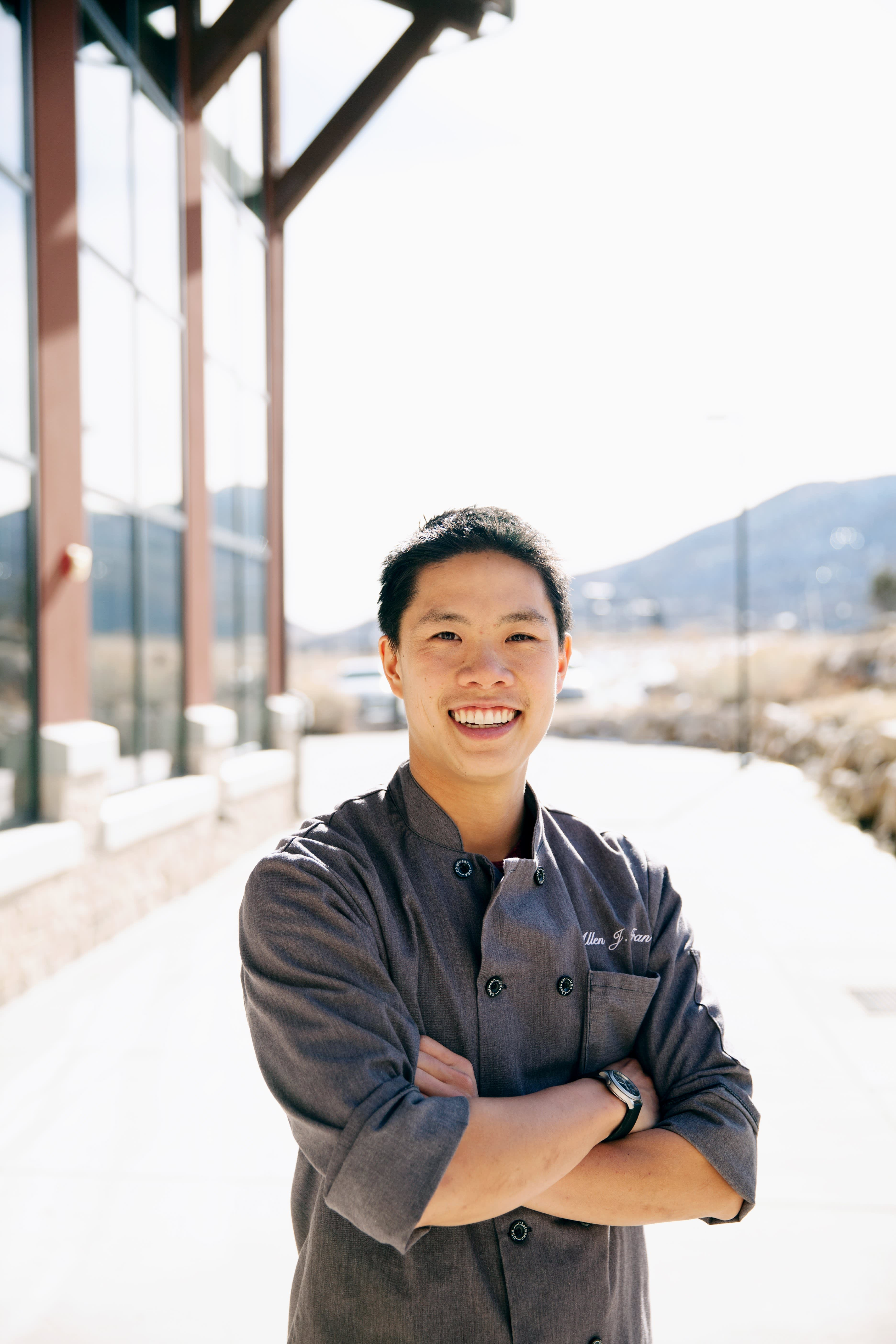 U.S. Ski Team Chef Allen Tran