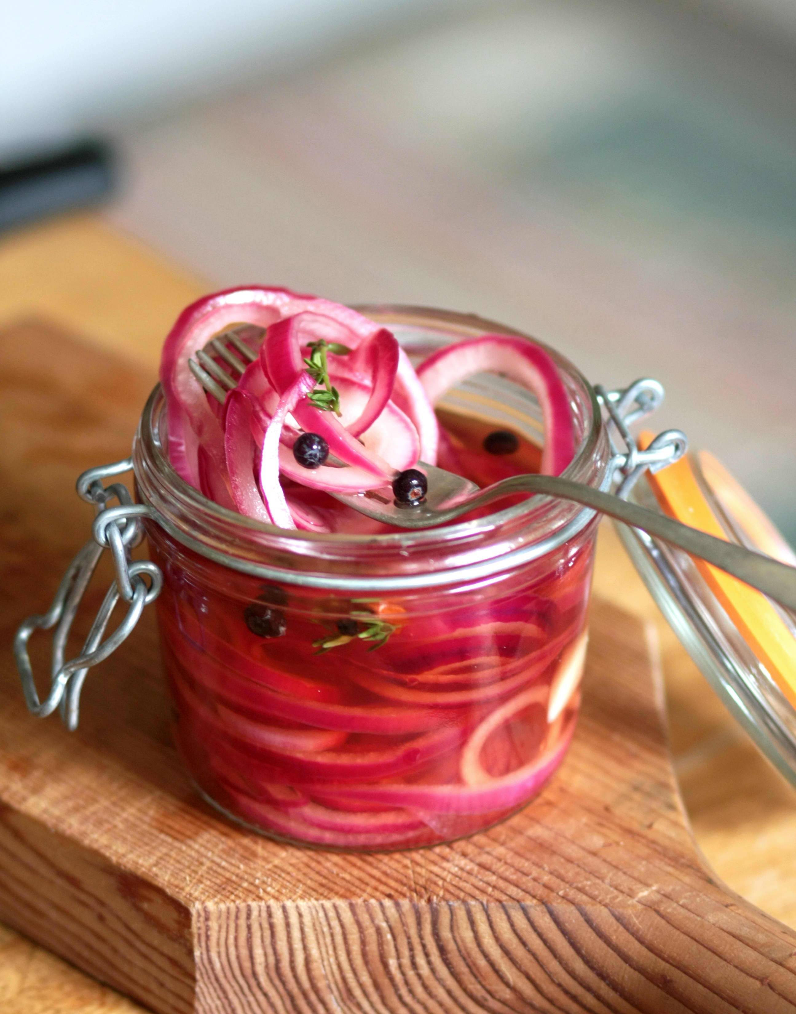 How To Make Quick-Pickled Red Onions