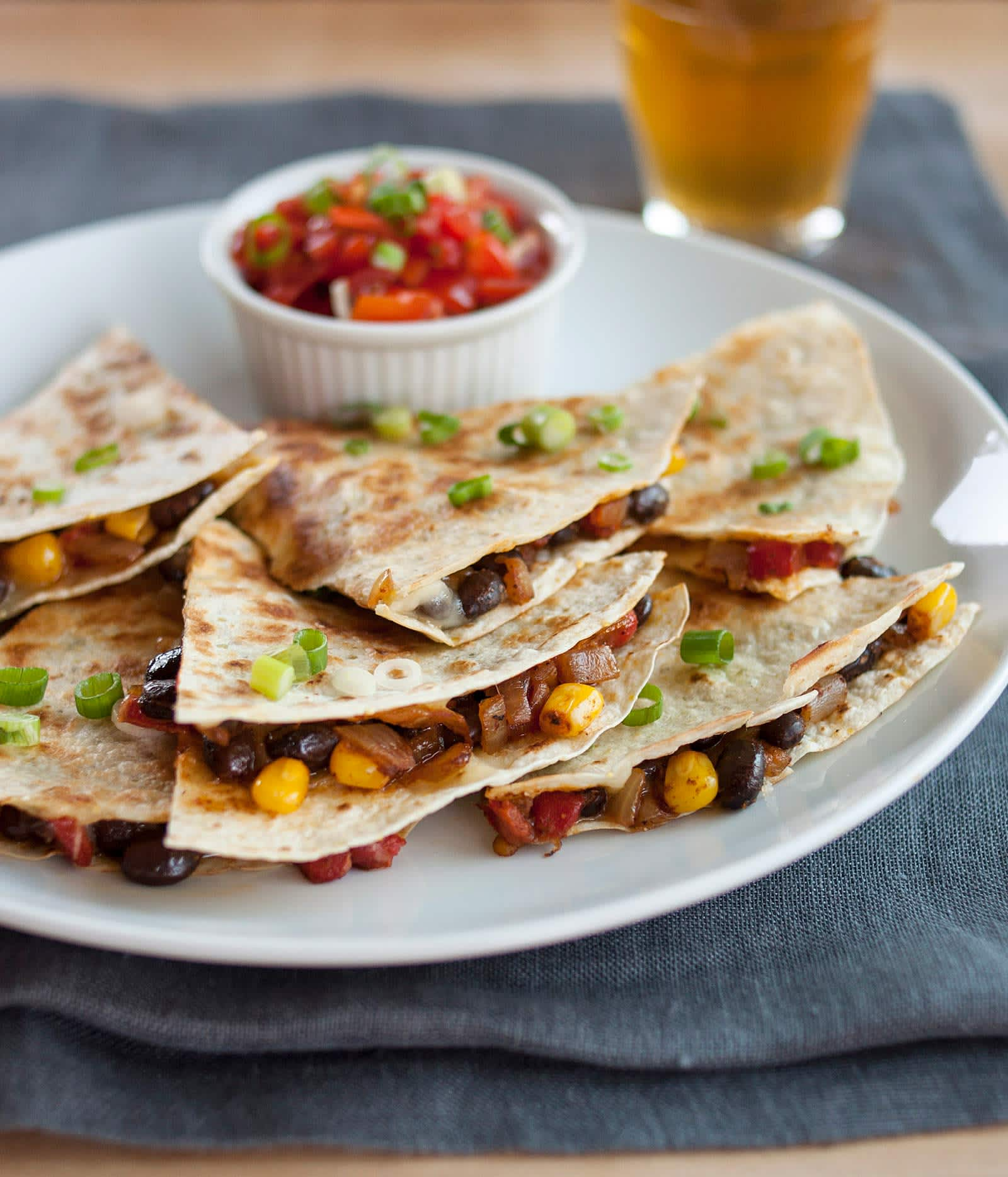 How to Make Crispy, Cheesy Quesadillas on the Stove Top