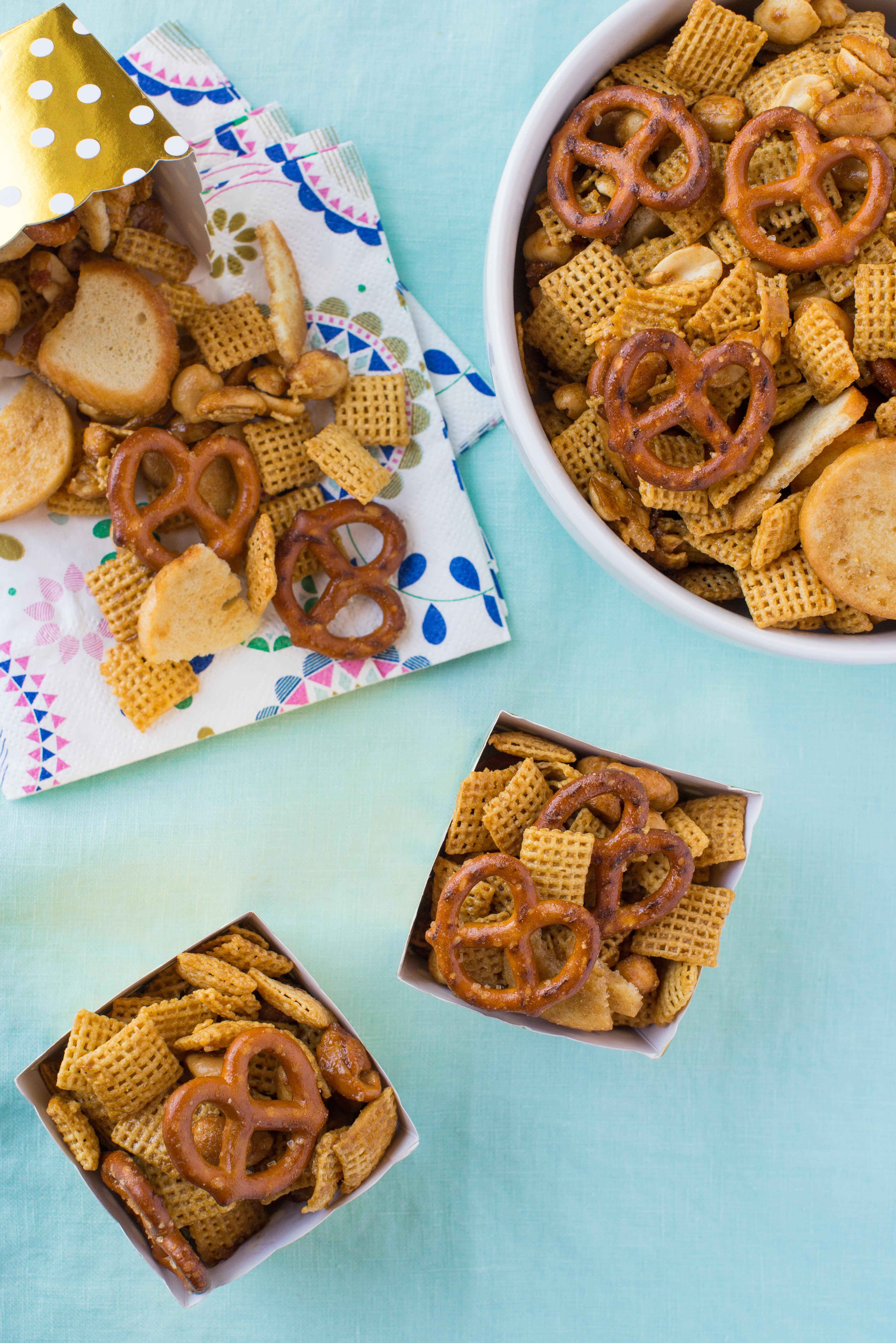 Honey Mustard Snack Mix