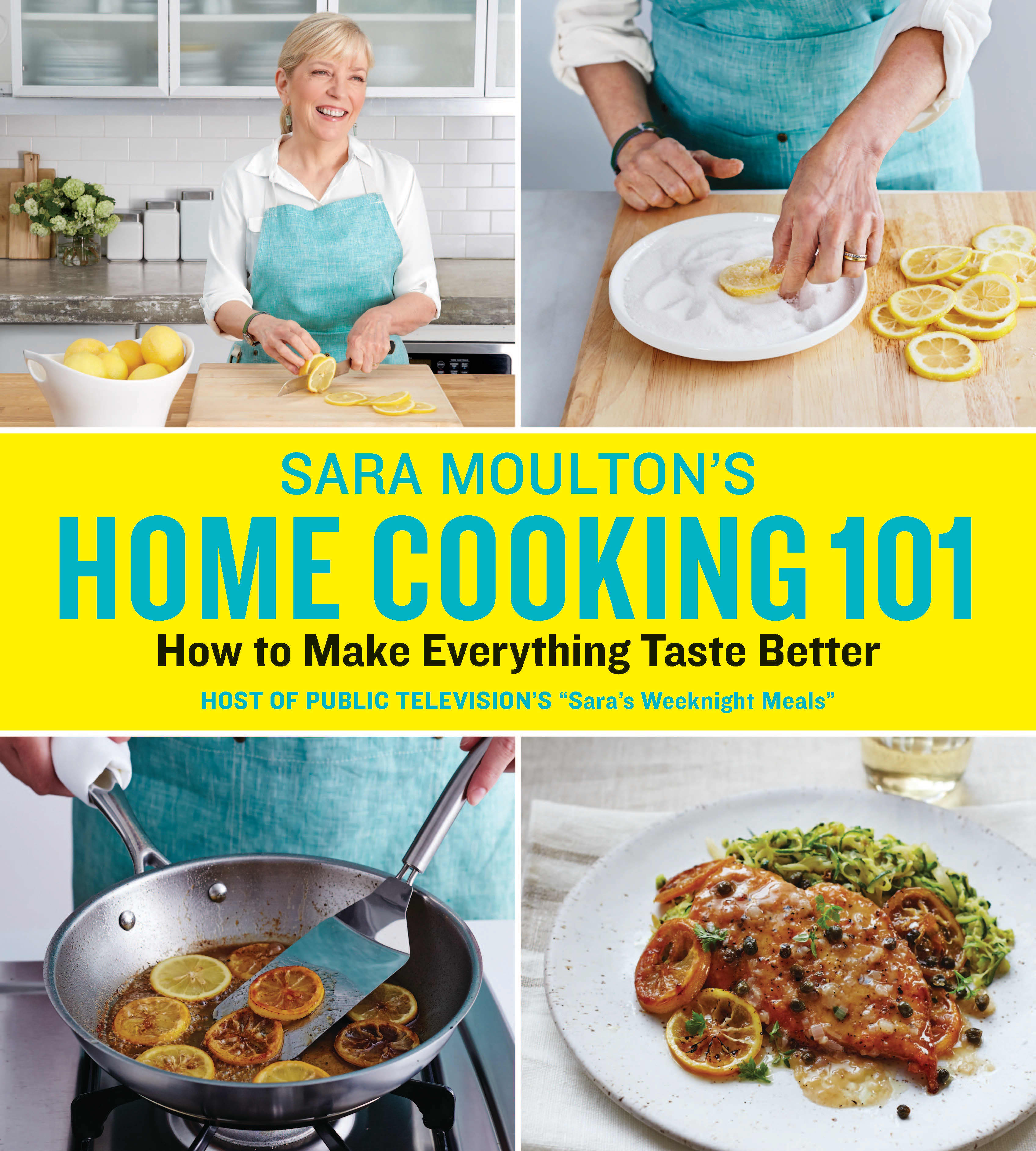 Sara Moulton's Home Cooking 101 Book Cover