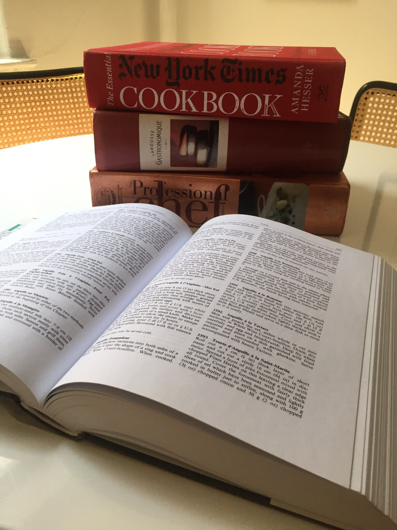 Cooking Tomes