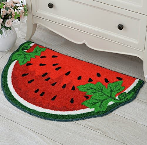 Watermelon Floor Mat   Amazon