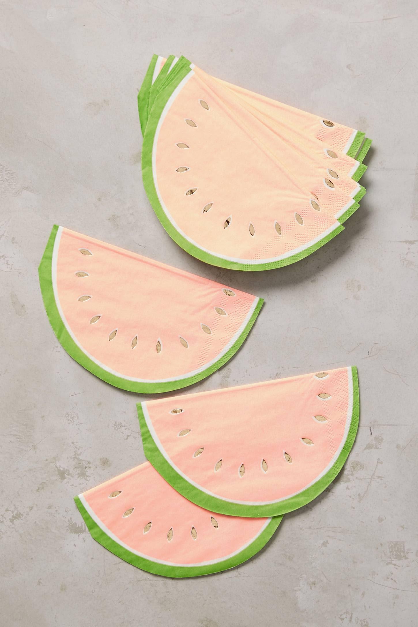 Watermelon Napkins   Anthropologie