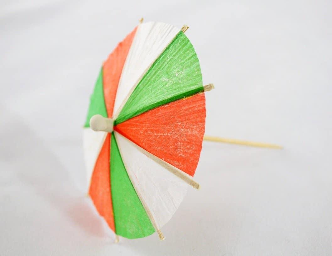 Three Color Drink Umbrellas