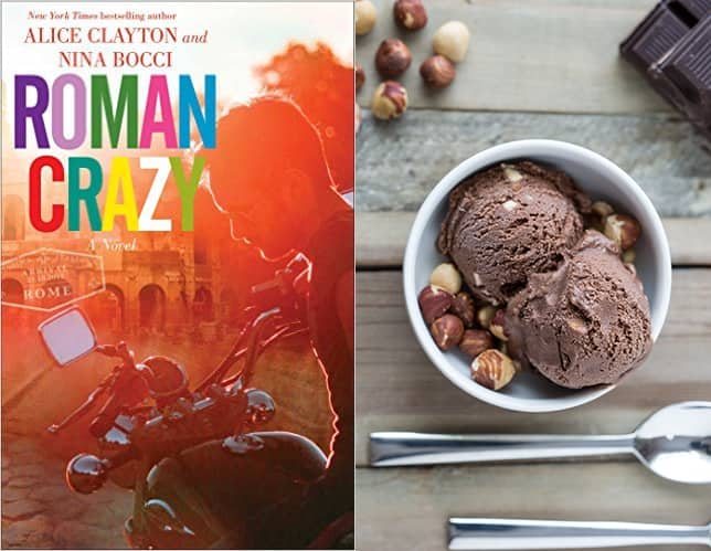 Roman Crazy Book with Ice Cream
