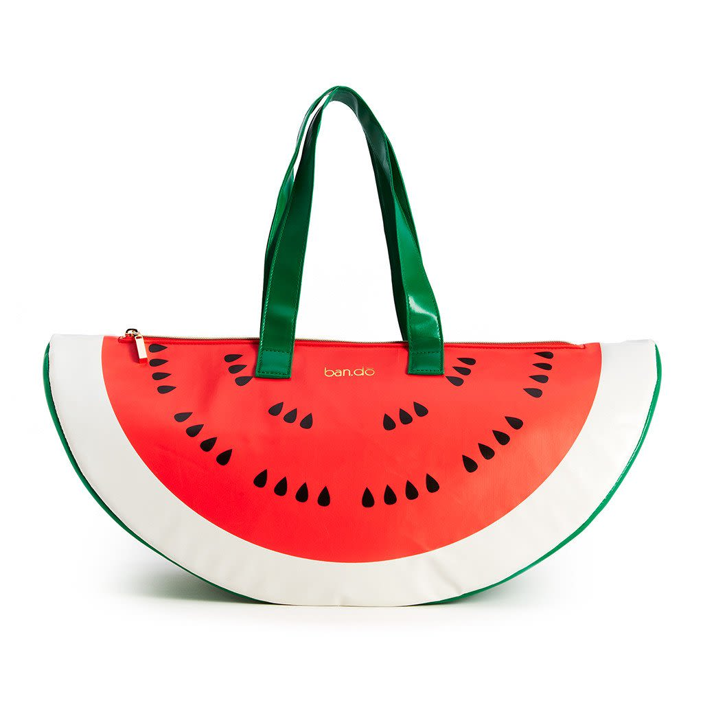 Watermelon Cooler Bag   Ban.do